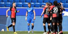 Hertha wordt niet bestraft voor samen juichende spelers