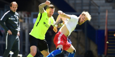 Hamburger SV komt twee fouten van Letschert te boven