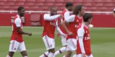 Video: Arsenal maakt er zes in oefenduel met Charlton Athletic