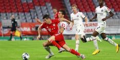 Bayern klopt Frankfurt en treft Leverkusen in Duitse bekerfinale