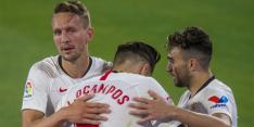Invallende De Jong boekt met Sevilla nipte zege tegen Osasuna