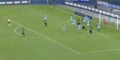 ?Video: Eriksen krult corner direct doel in, Ospina de fout in