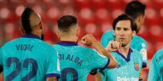 Barcelona komt niet in de problemen bij hervatting