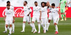 Real Madrid maakt bij herstart geen fout en blijft in spoor Barça