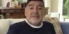Video: Maradona feliciteert Mertens met fraai record