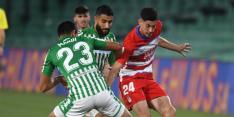 Real Betis en Granada spelen gelijk na spectaculaire slotfase