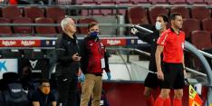 Leganes-trainer krijgt tegen Barça rode kaart voor nadoen fluit