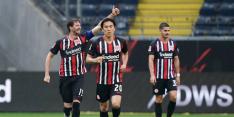 Dost mag met Eintracht Frankfurt nog hopen op Europees voetbal