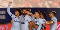 Atlético maakt er vijf en stijgt naar Champions League-plaats