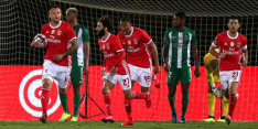 Benfica boekt met hangen en wurgen zege tegen negental