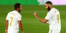 Real Madrid wint moeizaam, maar loopt wel weer uit op Barcelona