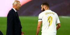 Benzema in fraai rijtje, complimenten van Zidane