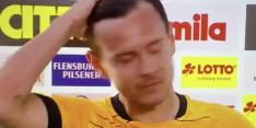 Video: Dresden-linksback Löwe loopt leeg na nederlaag