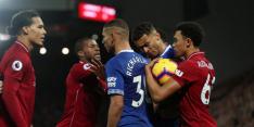 Liverpool met Van Dijk en zonder Wijnaldum in derby