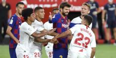 Piqué ziet titelkansen van FC Barcelona somber in