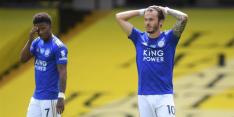 Wonderschone late goal levert Leicester slechts punt op
