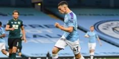 Manchester City kent geen genade met Burnley bij rentree Sané