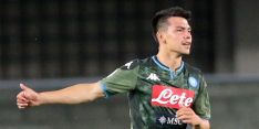 Napoli wint ruim en meldt zich in halve finales van de Coppa Italia