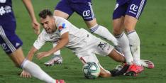 Sevilla speelt wéér gelijk, De Jong halverwege gewisseld