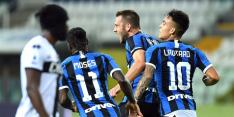 De Vrij draagt met goal bij aan ontsnapping Internazionale