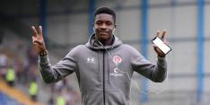 Conteh eerste keer in Feyenoord-selectie, Sparta start met Engels