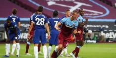 Chelsea verzuimt derde plaats over te nemen door verlies