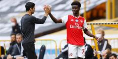 Saka geeft wederopstanding Arsenal vervolg bij Wolves