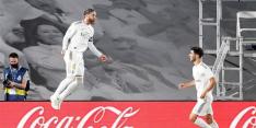 Nieuwe Ramos-penalty helpt Real Madrid stap verder in titelrace