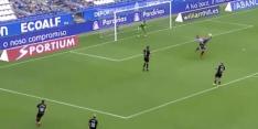 Video: oud-NEC'er Santos maakt wereldgoal namens Deportivo