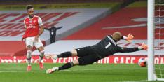 Arsenal laat kansen liggen en speelt gelijk tegen Leicester