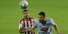 Atlético Madrid ondanks snelle goal niet langs Celta de Vigo