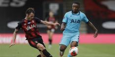 Nieuwe tik voor Spurs na draak van een duel bij Bournemouth