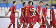 Kluivert-loos AS Roma doet plicht tegen Brescia