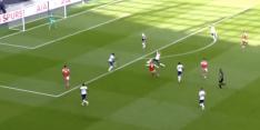 Video: Lacazette opent op prachtige wijze score in derby
