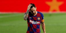 'Koeman moet een lijmpoging wagen bij boze Messi'