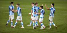 Real Sociedad blijft aan kop door zege op PSV-opponent Granada