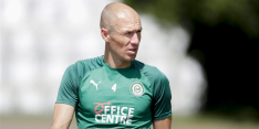 """Robben denkt aan stoppen: """"Het gaat niet goed, het valt tegen"""""""