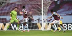 Aston Villa boven de streep door zege op pover Arsenal