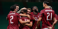 Opgeleefd AC Milan wint weer dankzij goals Ibrahimovic