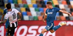 Ondanks treffer De Ligt moet Juventus kampioenschap uitstellen