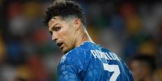 'Ronaldo test voor derde keer positief op corona'