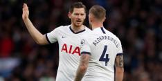'AS Roma ligt op pole position voor transfervrije Vertonghen'