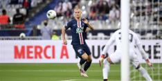 'Bankzitter Bakker misdraagt zich na overwinning van PSG'