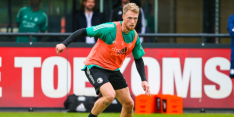 """Jørgensen gaat ballen bij Feyenoord, echt geen concreet bod"""