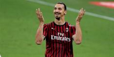 Officieel: Ibrahimovic (38) gaat nog jaartje door bij Milan
