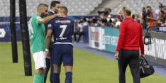 Perrin zet na charge op Mbappé punt achter zijn loopbaan