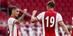 Ajax wint eerste oefenduel met dubbelslag Antony