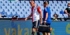 Van Beek hervat training deels, Bannis ook op het veld