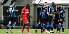 Europees avontuur Bosz en Sinkgraven eindigt tegen Inter