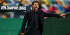 """Simeone houdt geloof in titel: """"Iedereen heeft mindere fases"""""""